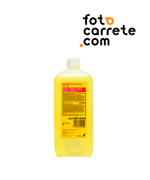 comprar revelador kodak hc 110 para revelado de carretes blanco y negro casero